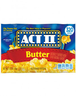 Act 2 Butter Popcorn 10 Oz