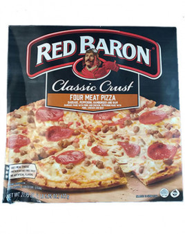 Red Baron Classic Crust Four Meat Pizza 1 Pc